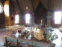 Trauerfeier zur Einöscherung in Jöllenbeck