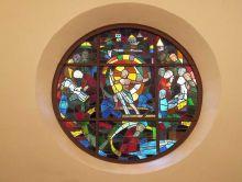 Kirchenfenster in Theesen