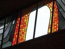 Fenster der Friedhofskapelle