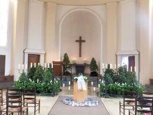 Urnenbestattung auf dem Sennefriedhof